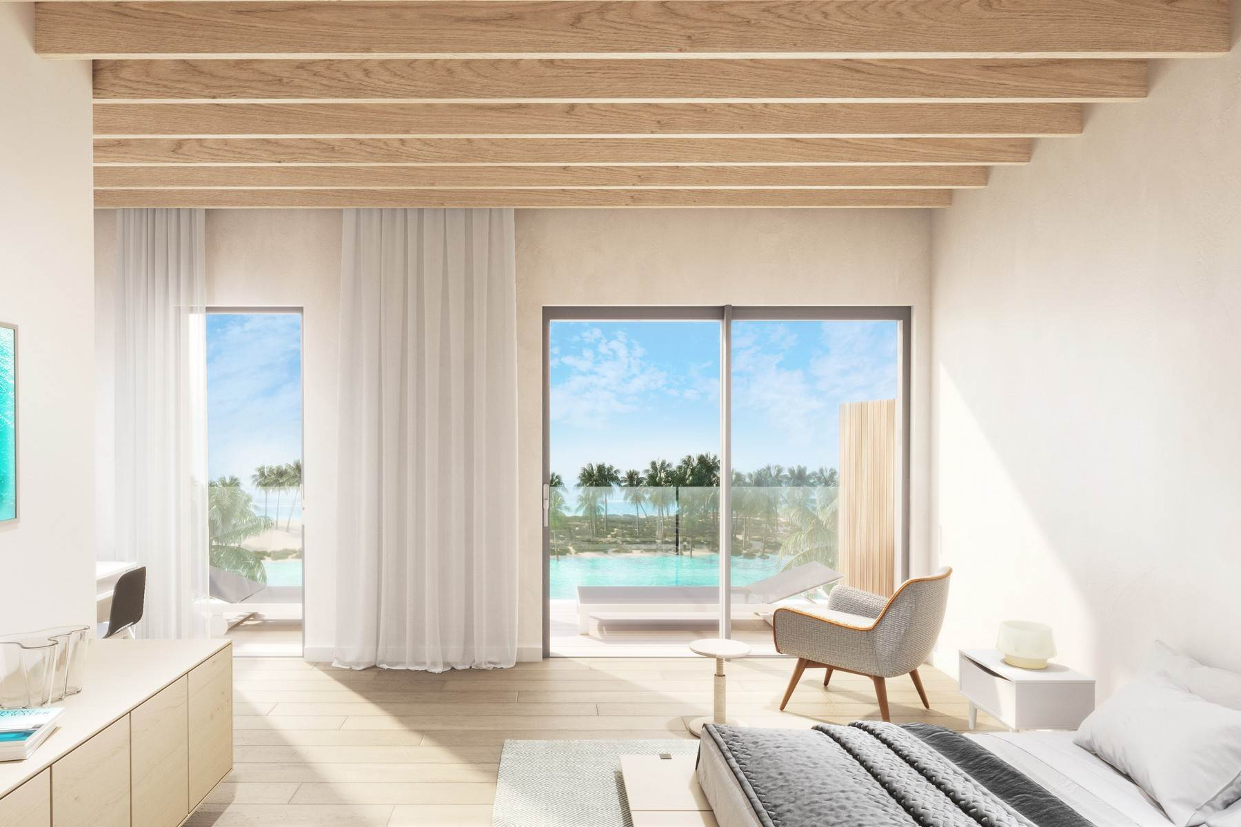 7. Condominiums for Sale at SOUTH BANK - BOATHOUSES - TWO BEDROOM PLUS ROOFTOP TERRACE - E1 South Bank, Long Bay, Providenciales Turks And Caicos Islands