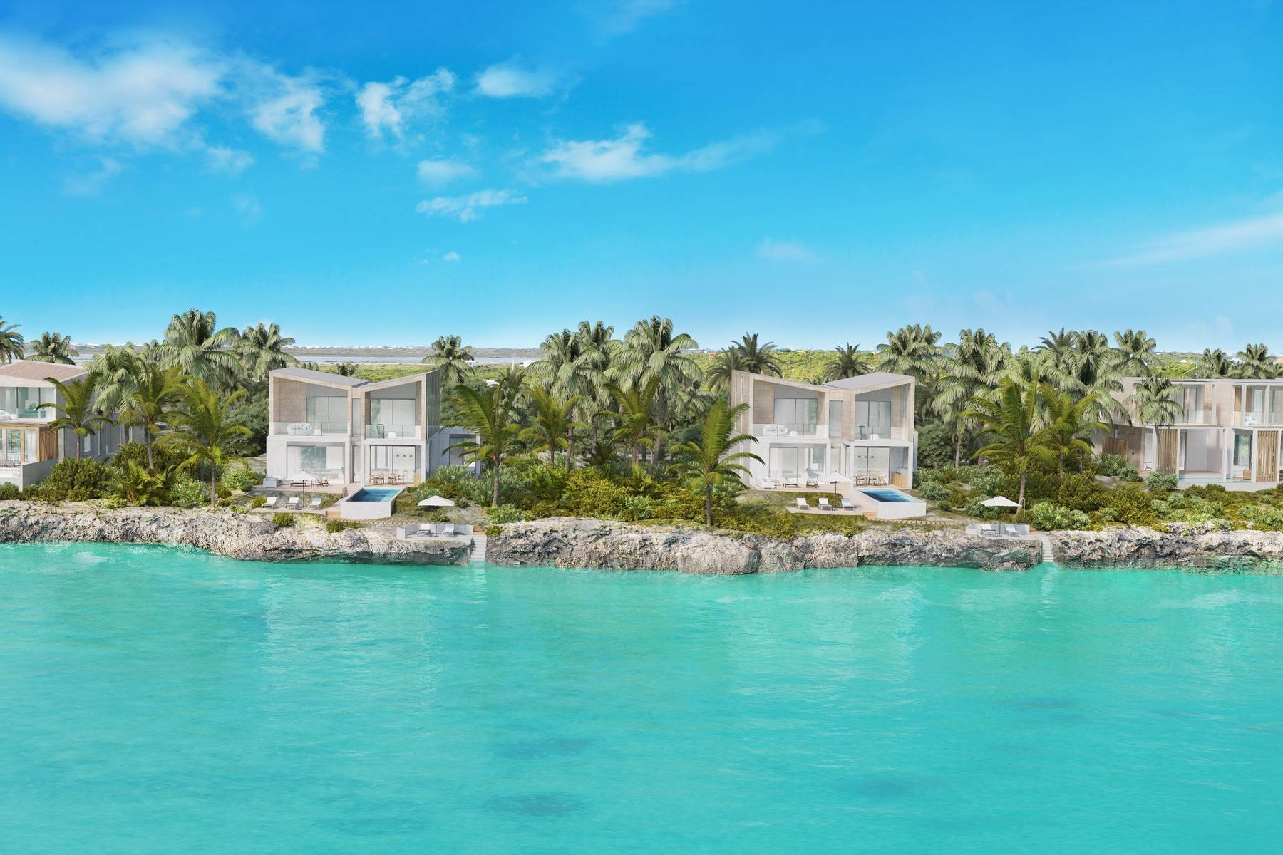 Single Family Homes for Sale at SOUTH BANK - THE OCEAN ESTATE II - REEF VILLA - VILLA 19 South Bank, Long Bay, Providenciales Turks And Caicos Islands