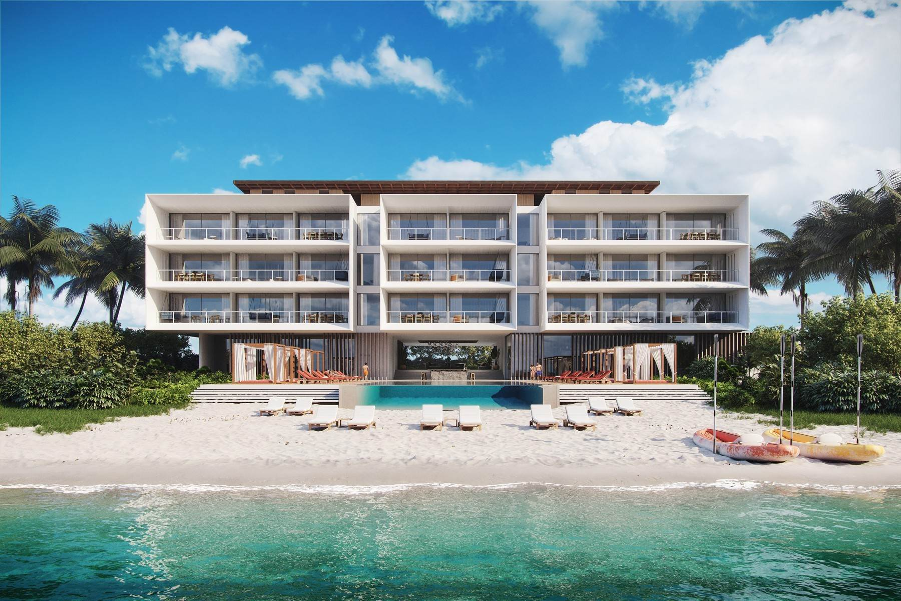 8. Condominiums for Sale at Club Four Bedroom 35/36/37 Beach Enclave Long Bay, Long Bay, Providenciales Turks And Caicos Islands