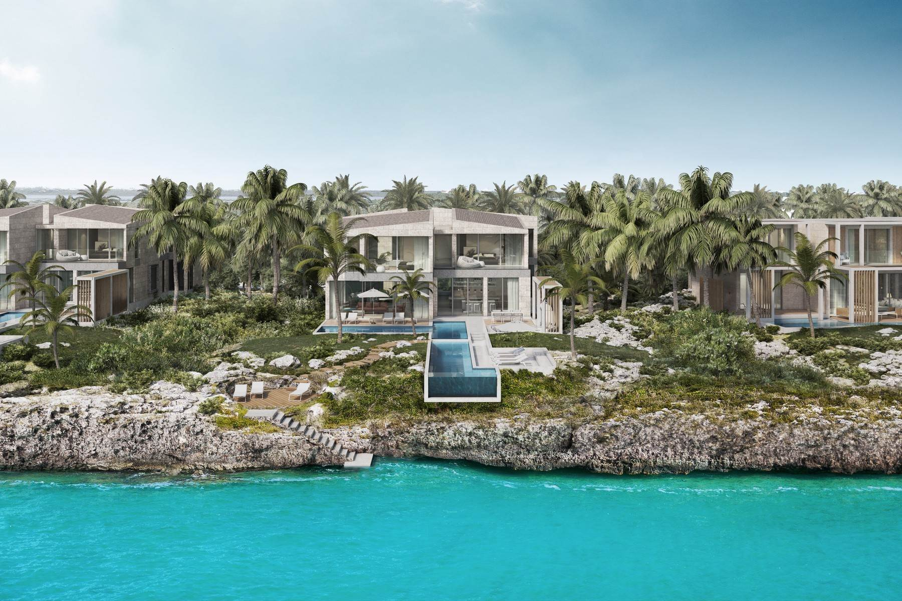 Single Family Homes por un Venta en SOUTH BANK - THE OCEAN ESTATE I - SHOAL VILLA 6 South Bank, Long Bay, Providenciales Islas Turcas y Caicos