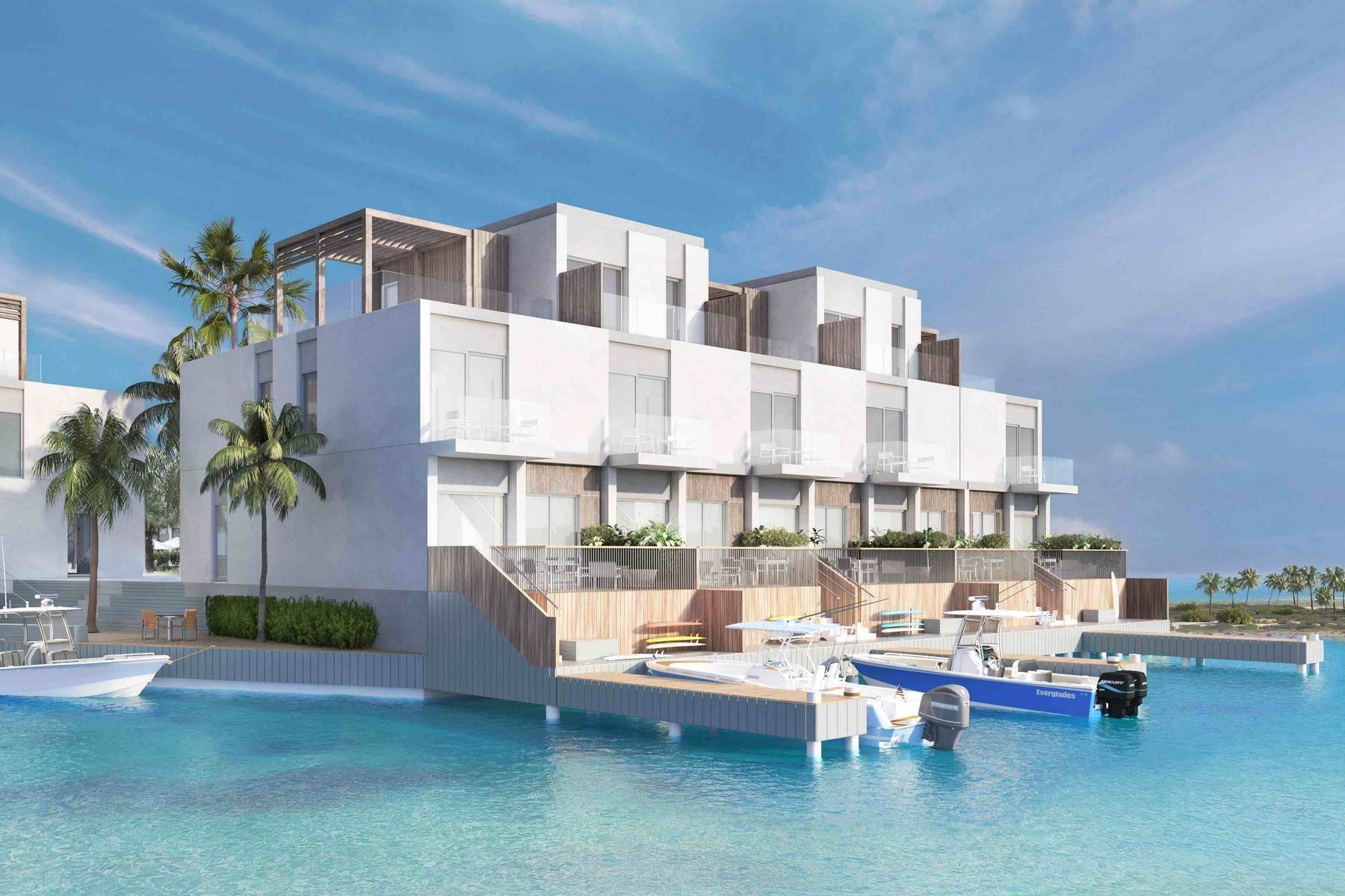 4. Condominiums for Sale at SOUTH BANK - BOATHOUSES - TWO BEDROOM PLUS ROOFTOP TERRACE - E1 South Bank, Long Bay, Providenciales Turks And Caicos Islands