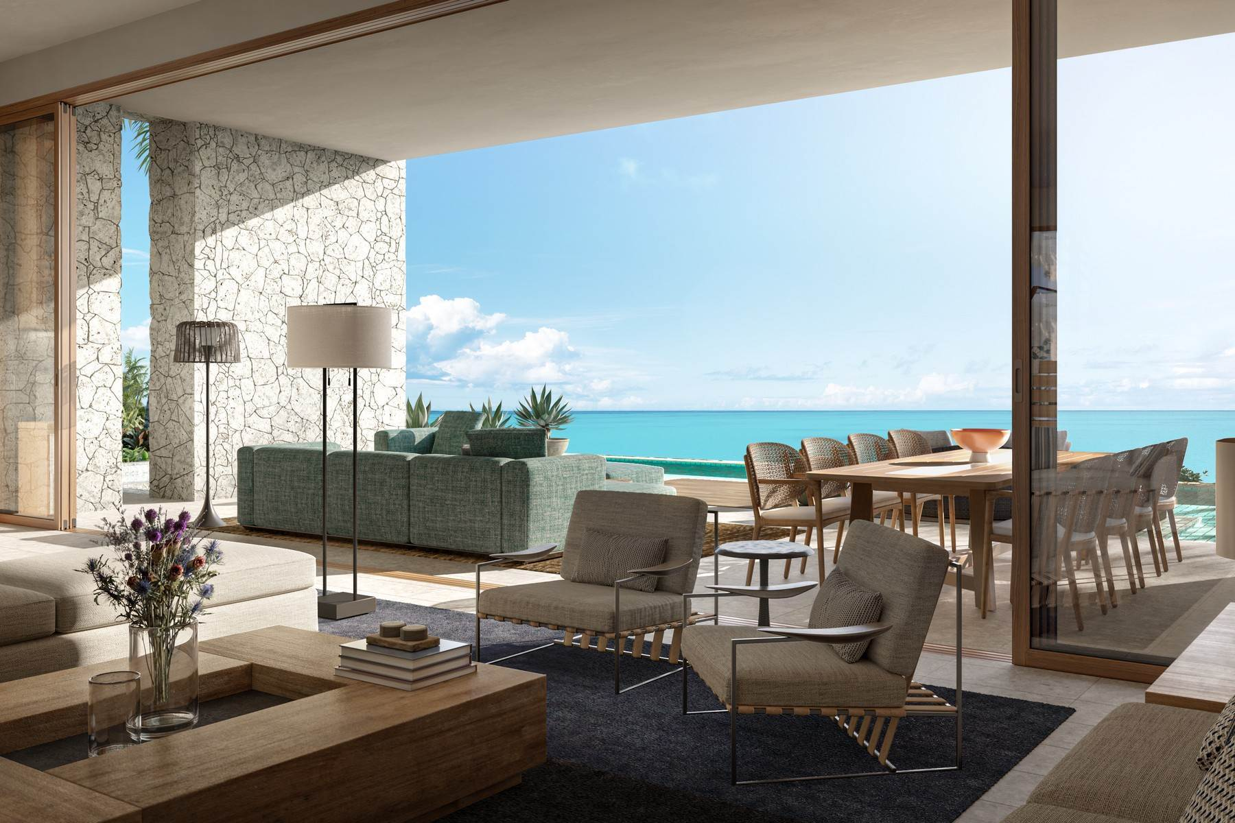 3. Single Family Homes pour l Vente à The Strand Turks & Caicos - Grand Residence R-4 The Strand, Cooper Jack, Providenciales Îles Turques-et-Caïques