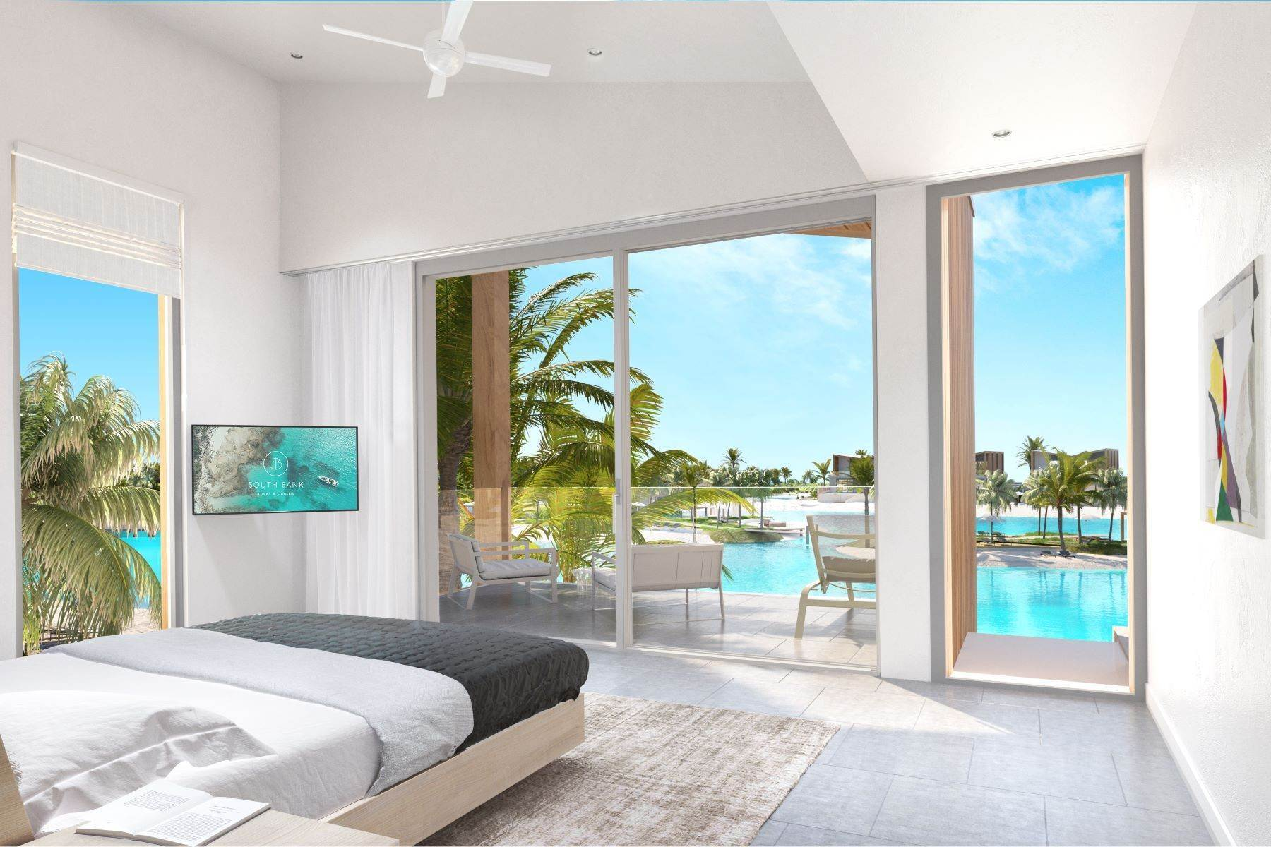 4. Single Family Homes for Sale at SOUTH BANK - THE LAGOON II - LAGOON VILLA 18 South Bank, Long Bay, Providenciales Turks And Caicos Islands