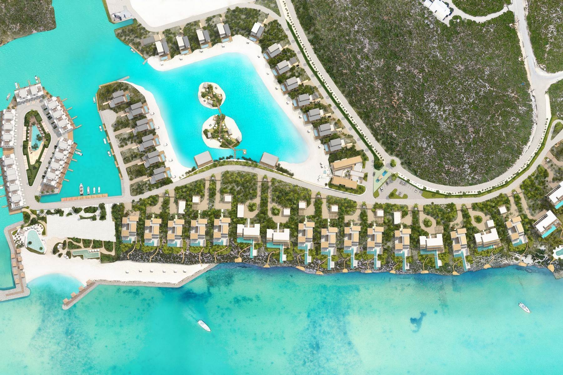 7. townhouses for Sale at SOUTH BANK - BOATHOUSES - TWO BEDROOM - E3 South Bank, Long Bay, Providenciales Turks And Caicos Islands