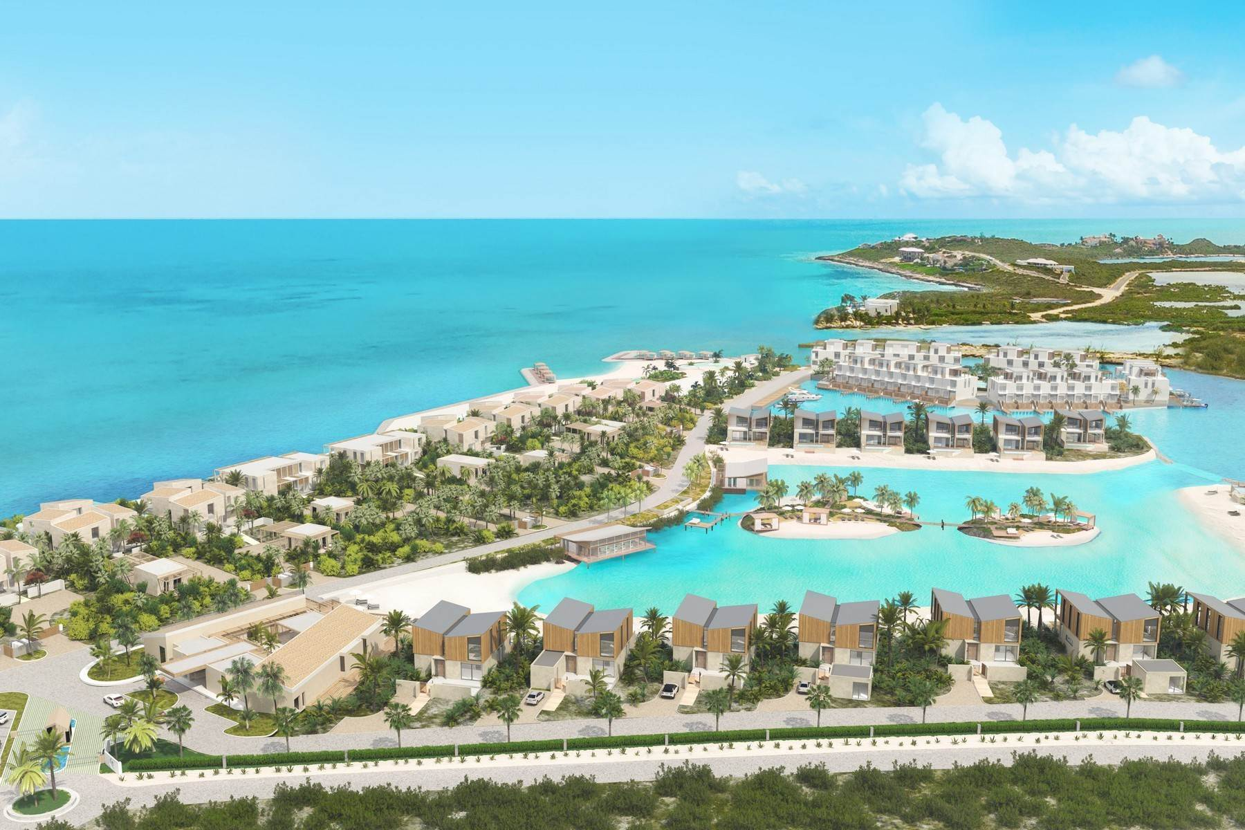 9. Condominiums for Sale at SOUTH BANK - BOATHOUSES - TWO BEDROOM PLUS ROOFTOP TERRACE - E1 South Bank, Long Bay, Providenciales Turks And Caicos Islands