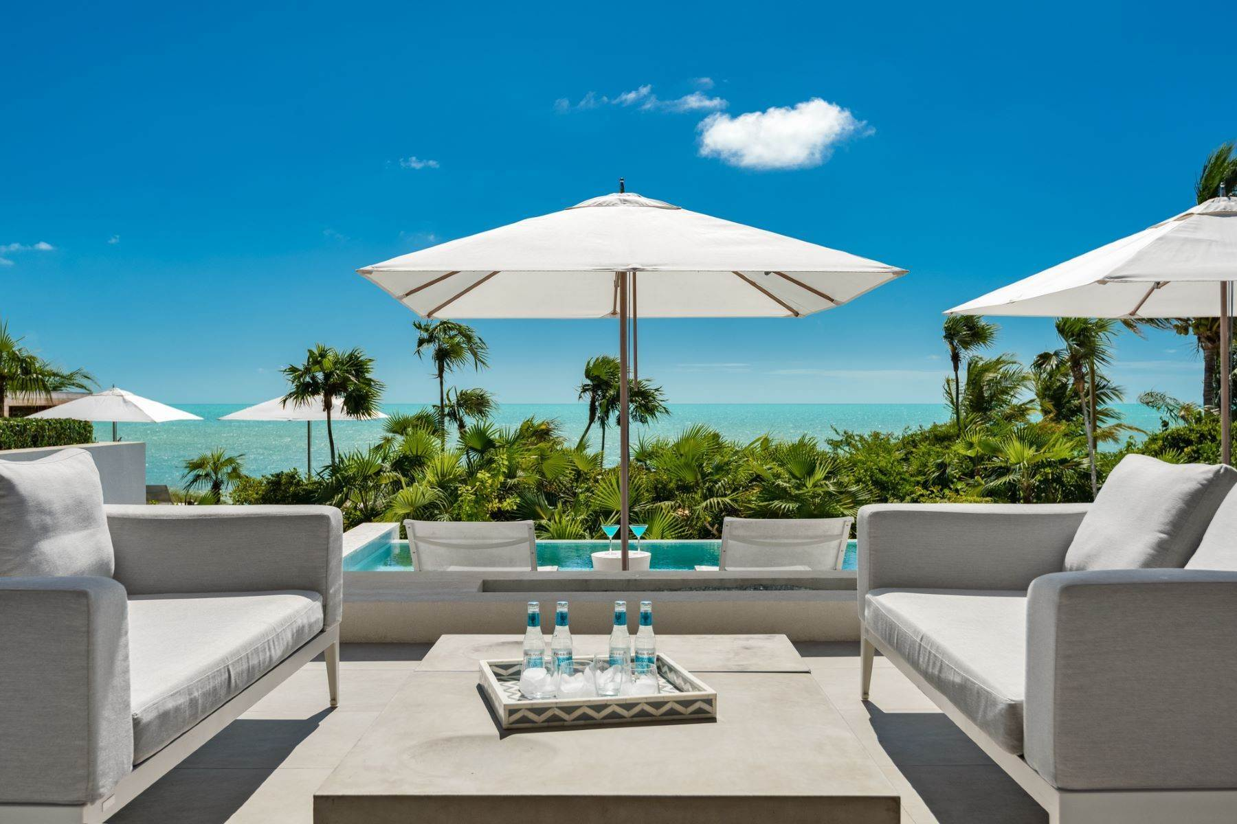 Single Family Homes for Sale at Beach Enclave Long Bay - Villa 6 Beach Enclave Long Bay, Long Bay, Providenciales Turks And Caicos Islands