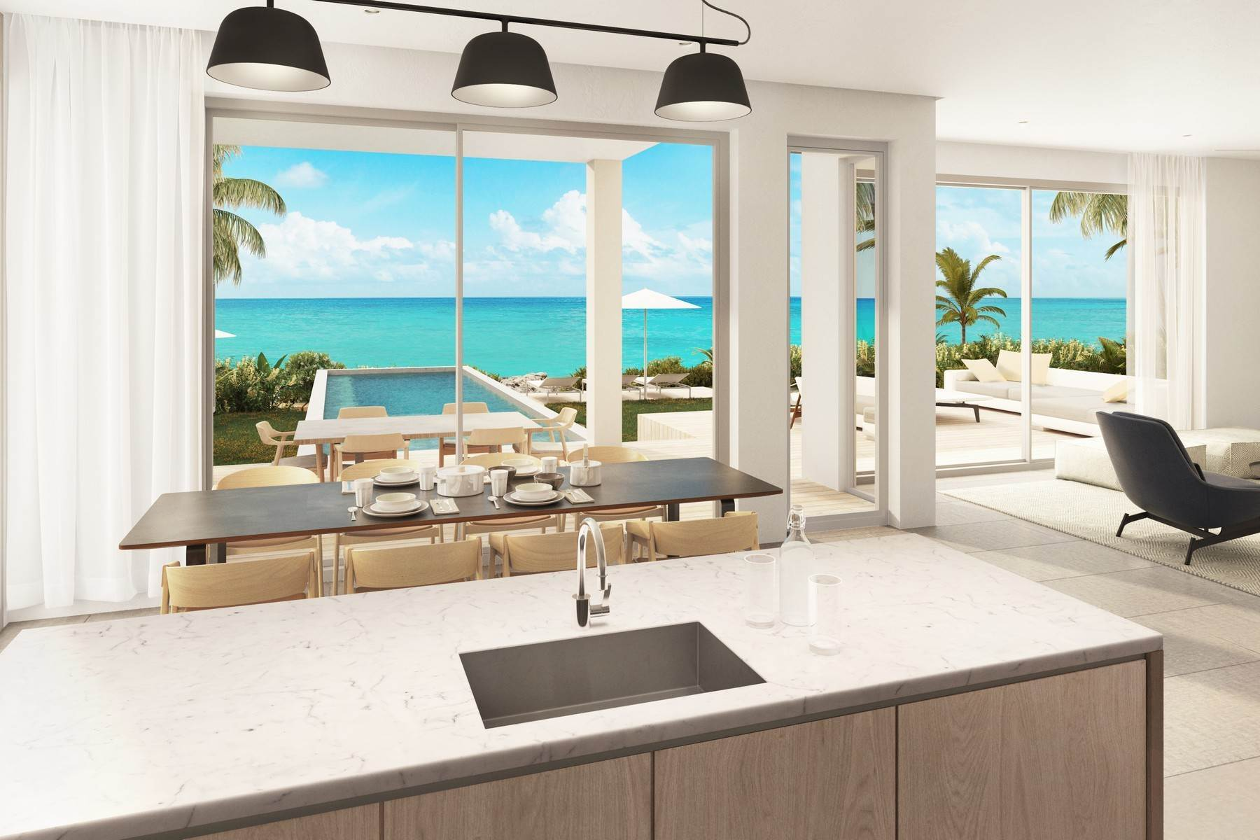 3. Single Family Homes for Sale at SOUTH BANK - THE OCEAN ESTATE II - REEF VILLA - VILLA 19 South Bank, Long Bay, Providenciales Turks And Caicos Islands