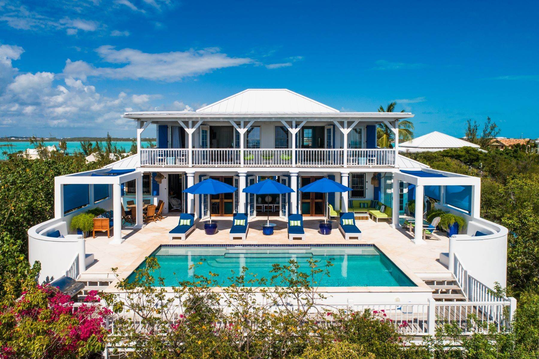 Single Family Homes for Sale at Bamboo House - Taylor Bay Beach View Taylor Bay, Providenciales TCI Turks And Caicos Islands