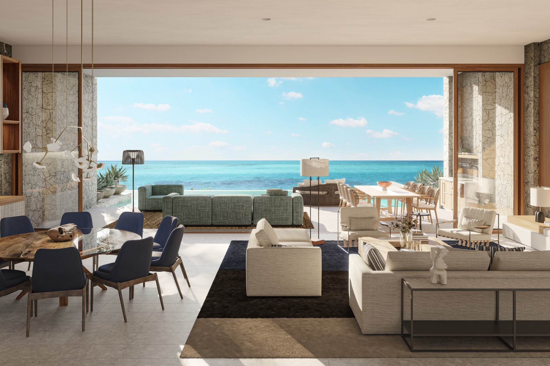 2. Single Family Homes pour l Vente à The Strand Turks & Caicos - Grand Residence R-4 The Strand, Cooper Jack, Providenciales Îles Turques-et-Caïques