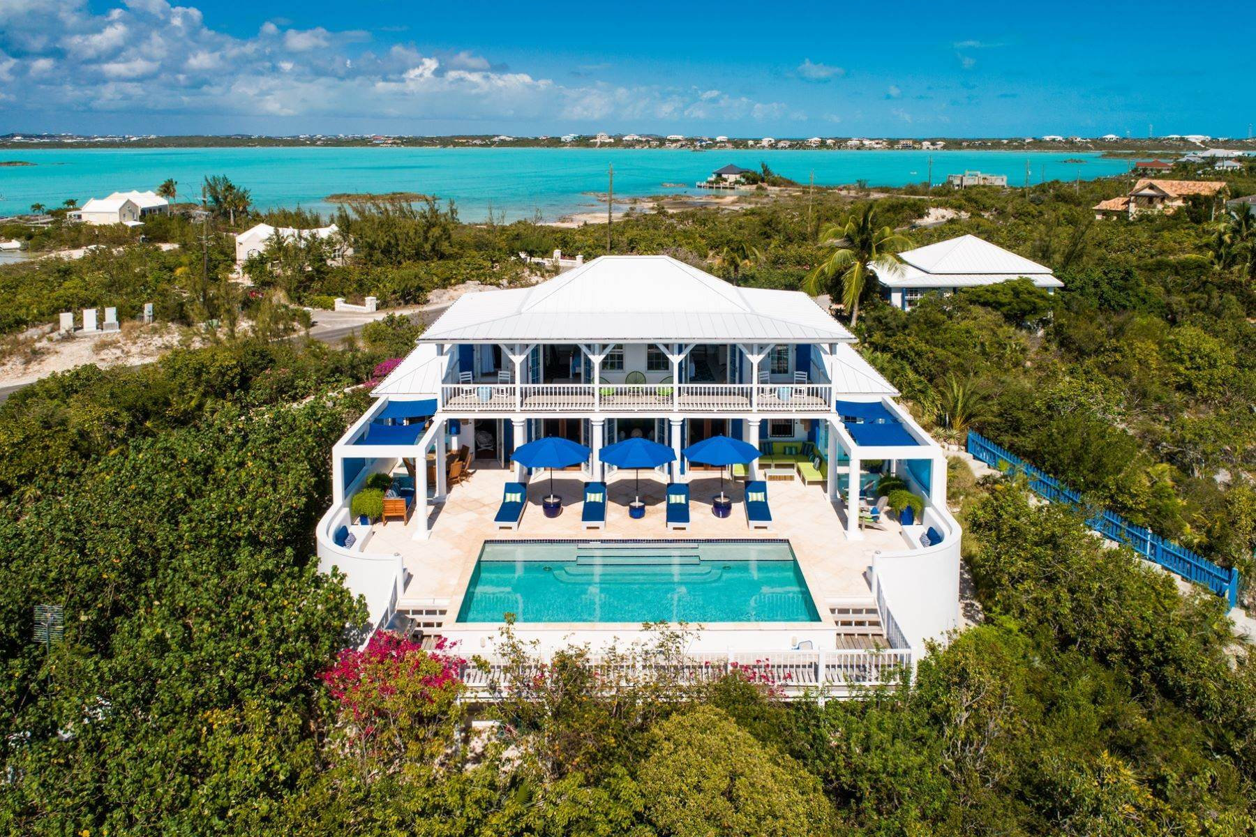 Single Family Homes for Sale at Bamboo House Beachfront Taylor Bay, Providenciales TCI Turks And Caicos Islands