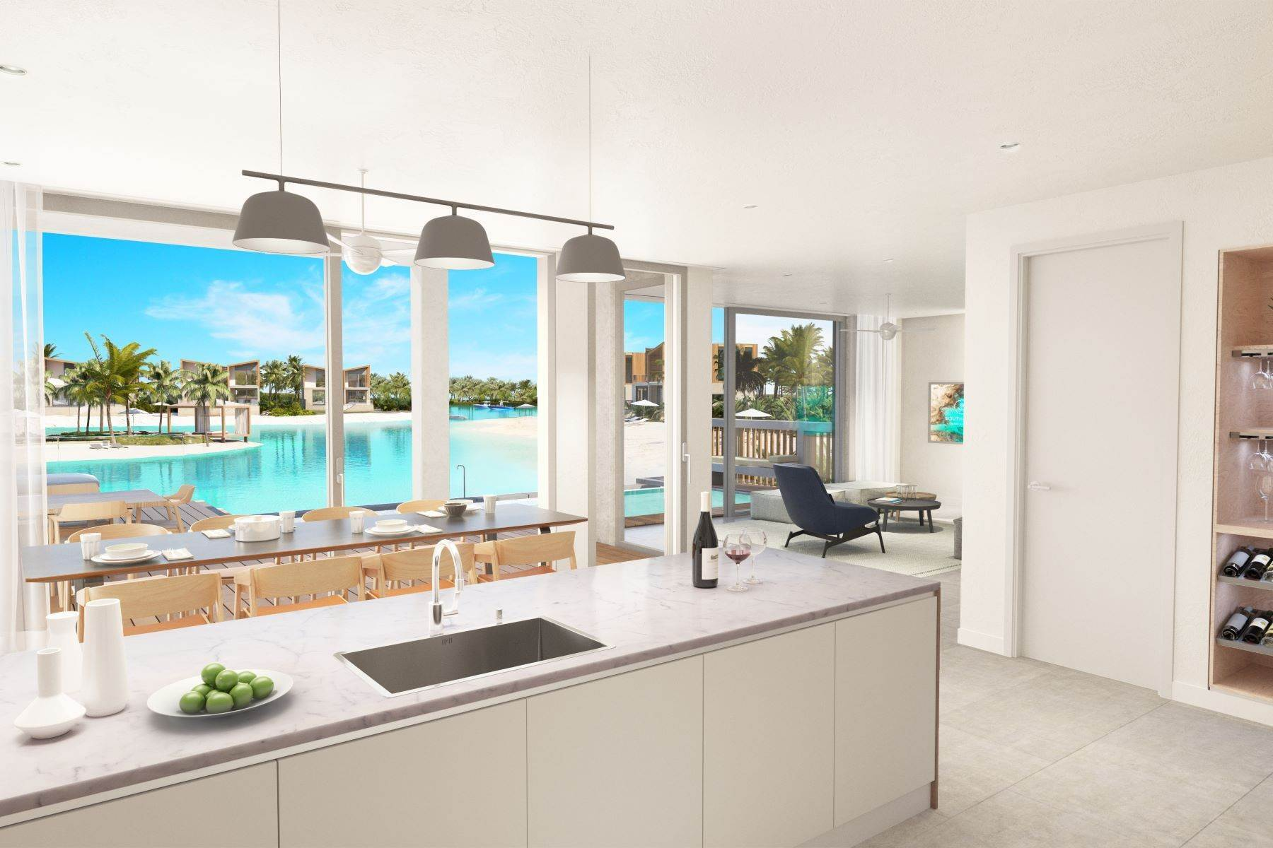 2. Single Family Homes for Sale at SOUTH BANK - THE LAGOON II - LAGOON VILLA 18 South Bank, Long Bay, Providenciales Turks And Caicos Islands