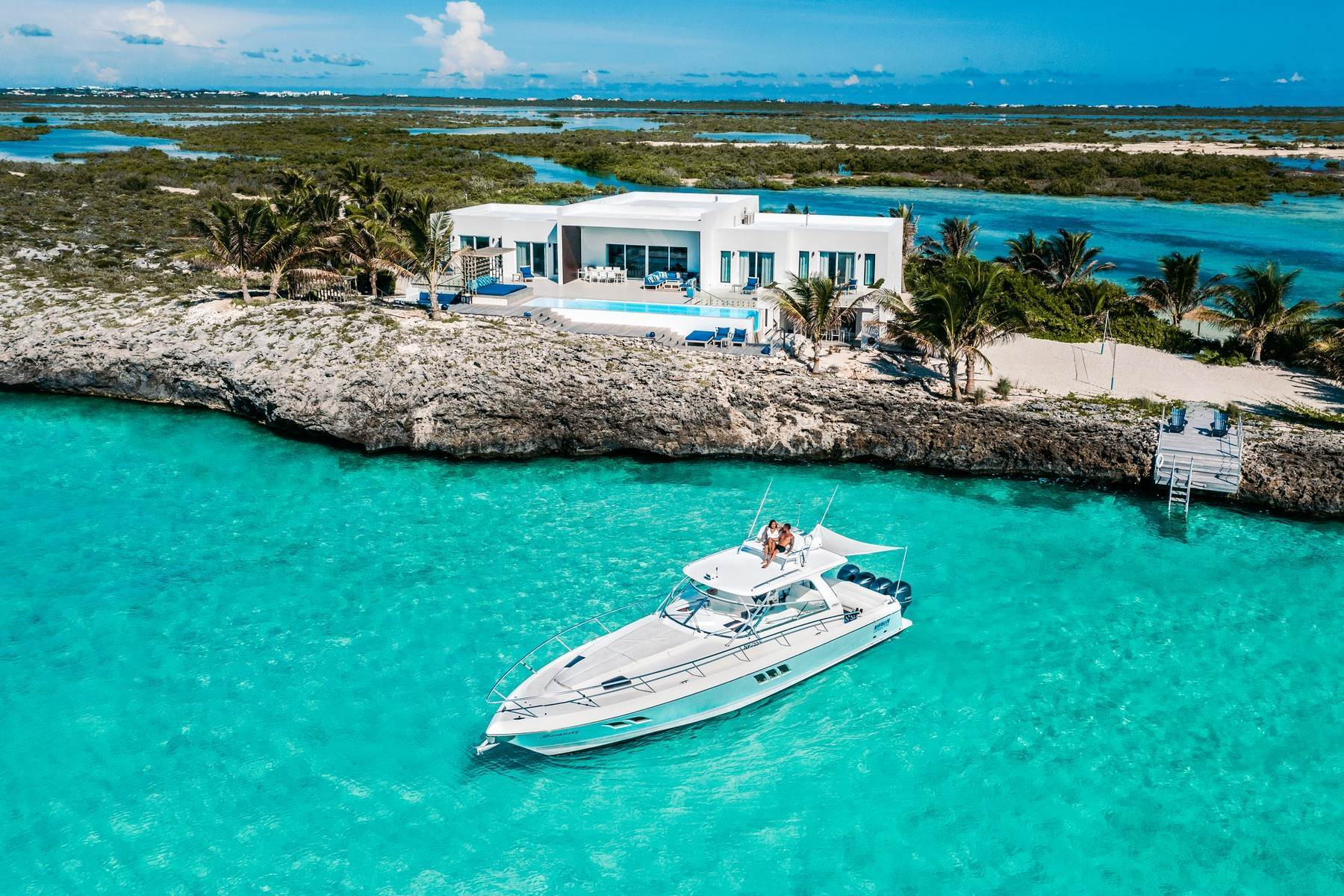 3. Single Family Homes for Sale at Tip Of The Tail Villa Turtle Tail, Providenciales Turks And Caicos Islands