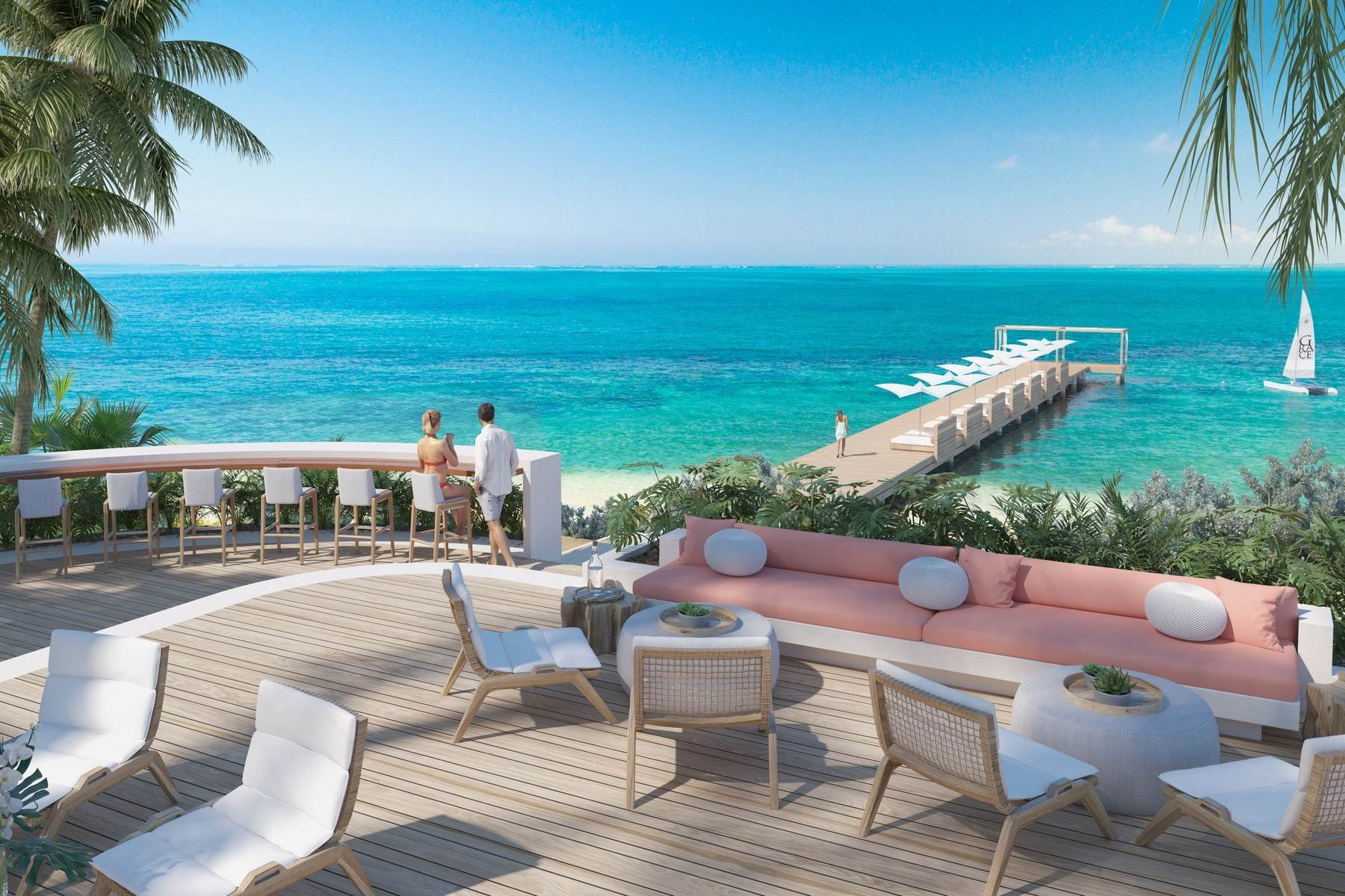 6. Single Family Homes for Sale at Rock House Two Bedroom Ridgetop Home Rock House Resort, International Drive Blue Mountain, Providenciales TKCA 1ZZ Turks And Caicos Islands