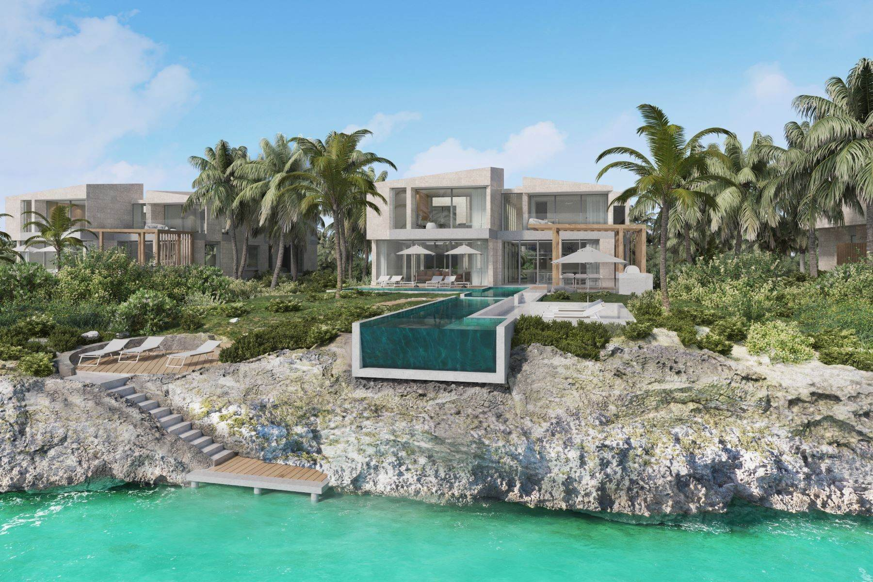 Single Family Homes por un Venta en SOUTH BANK - THE OCEAN ESTATE I - SHOAL VILLA 15 South Bank, Long Bay, Providenciales Islas Turcas y Caicos