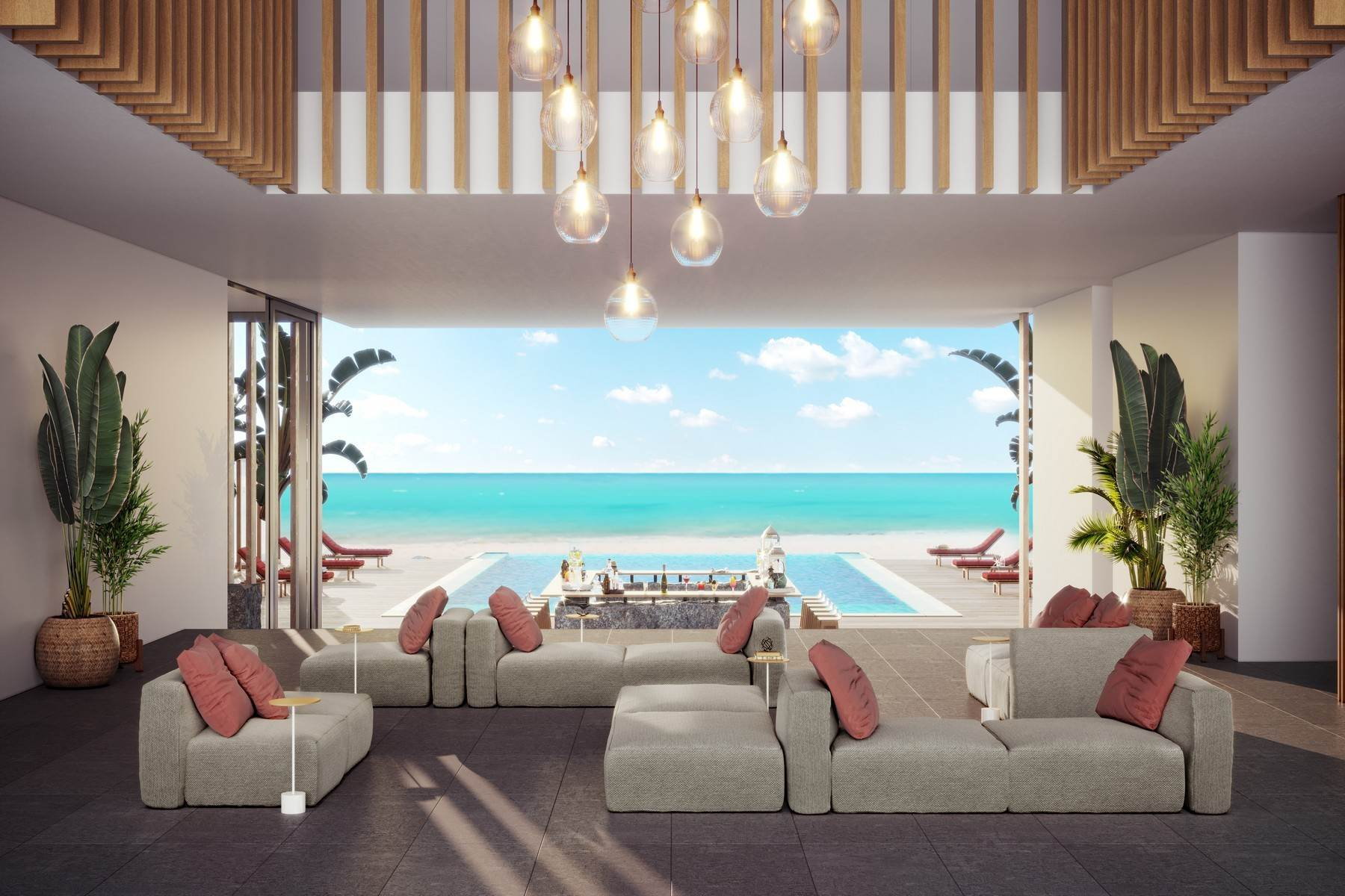 9. Condominiums for Sale at Club Four Bedroom 35/36/37 Beach Enclave Long Bay, Long Bay, Providenciales Turks And Caicos Islands