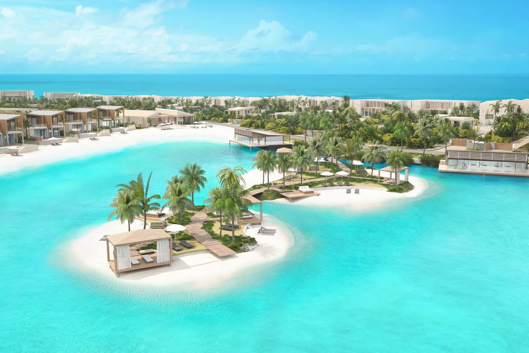 10. Condominiums for Sale at SOUTH BANK - BOATHOUSES - TWO BEDROOM PLUS ROOFTOP TERRACE - E1 South Bank, Long Bay, Providenciales Turks And Caicos Islands