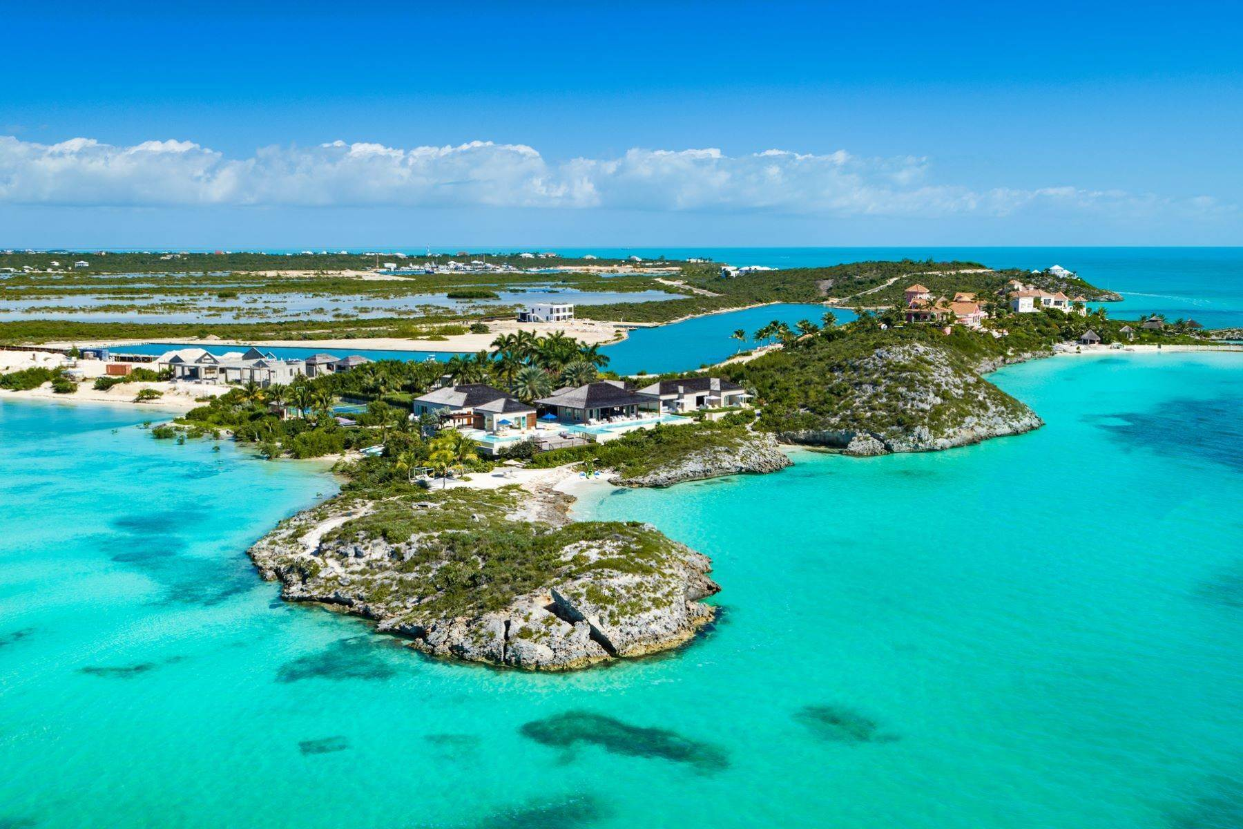 Single Family Homes at Turtle Tail Estate Vacation Rental Beachfront Turtle Tail, Providenciales TCI Turks And Caicos Islands