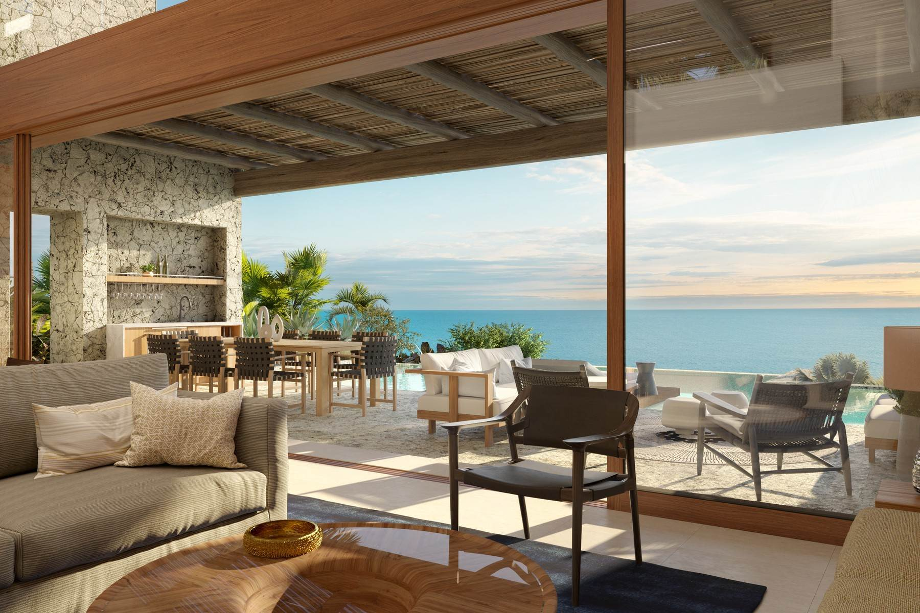 3. Single Family Homes pour l Vente à The Strand Turks & Caicos - Luxury Residence R-2 The Strand, Cooper Jack, Providenciales Îles Turques-et-Caïques