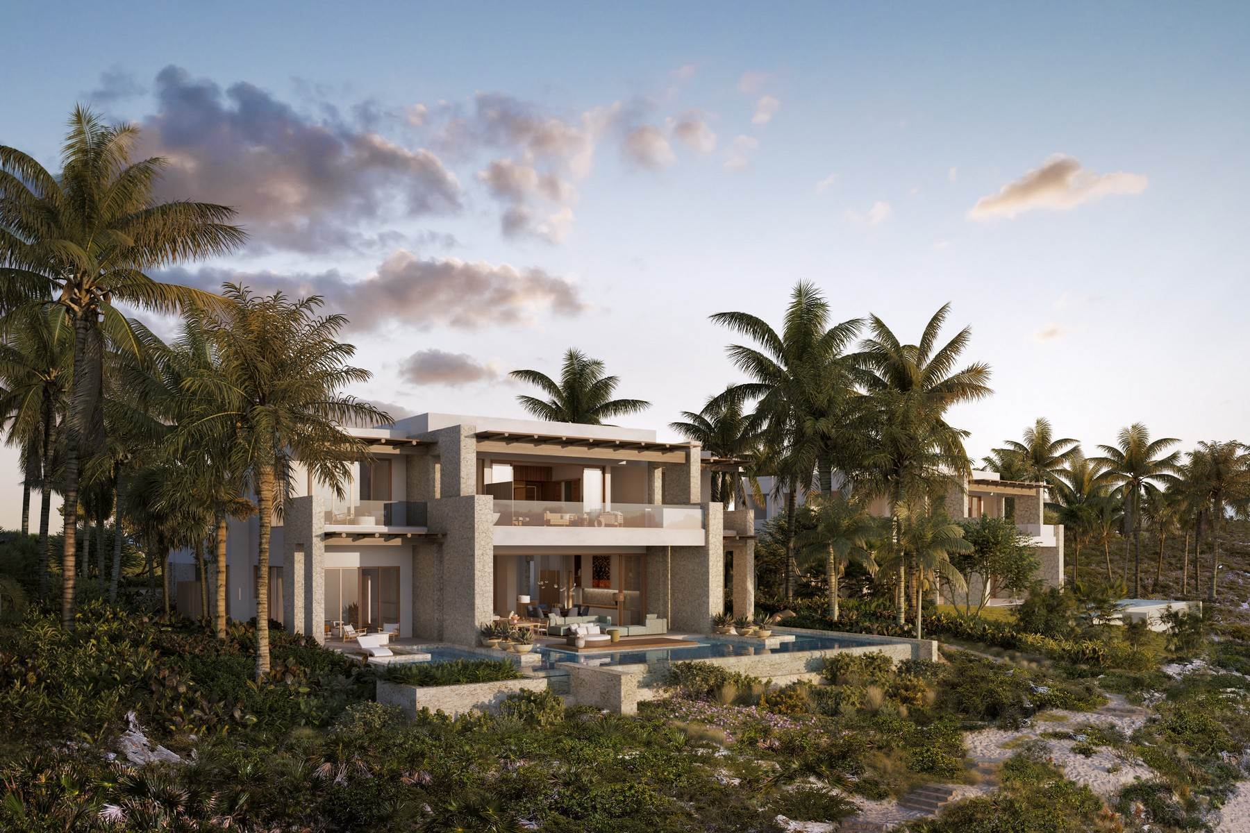 8. Single Family Homes pour l Vente à The Strand Turks & Caicos - Grand Residence R-4 The Strand, Cooper Jack, Providenciales Îles Turques-et-Caïques