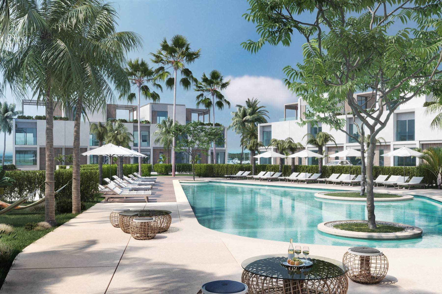 8. Condominiums for Sale at SOUTH BANK - BOATHOUSES - TWO BEDROOM PLUS ROOFTOP TERRACE - E1 South Bank, Long Bay, Providenciales Turks And Caicos Islands