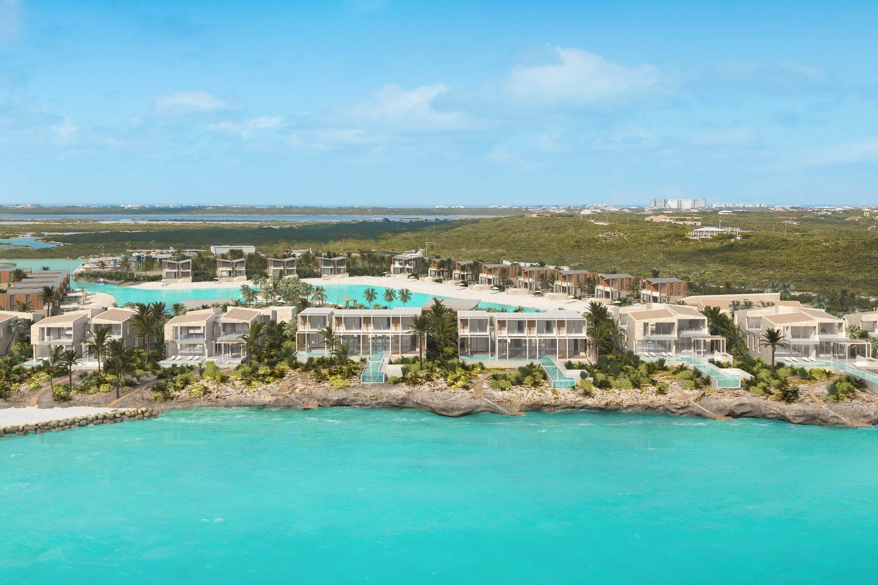 1. Single Family Homes for Sale at SOUTH BANK - THE OCEAN ESTATE I - BANKS VILLA 7 South Bank, Long Bay, Providenciales Turks And Caicos Islands