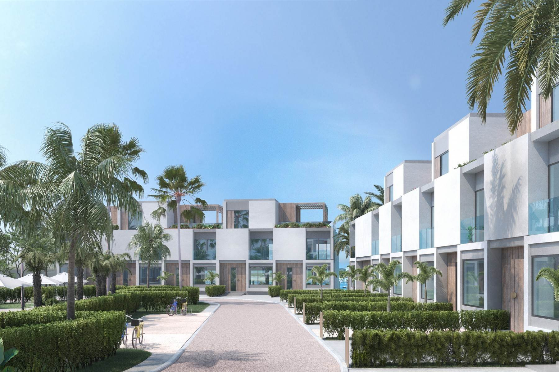 12. Condominiums for Sale at SOUTH BANK - BOATHOUSES - TWO BEDROOM PLUS ROOFTOP TERRACE - E1 South Bank, Long Bay, Providenciales Turks And Caicos Islands