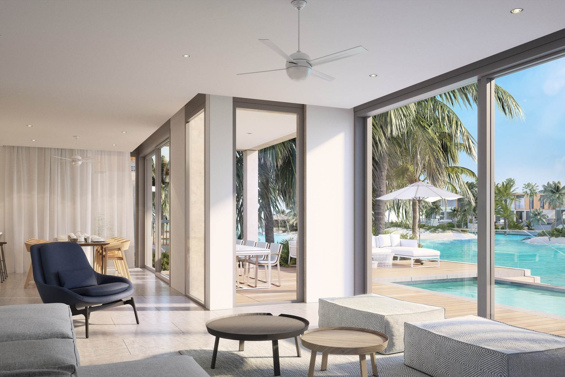 7. Single Family Homes for Sale at SOUTH BANK - THE LAGOON II - LAGOON VILLA 18 South Bank, Long Bay, Providenciales Turks And Caicos Islands