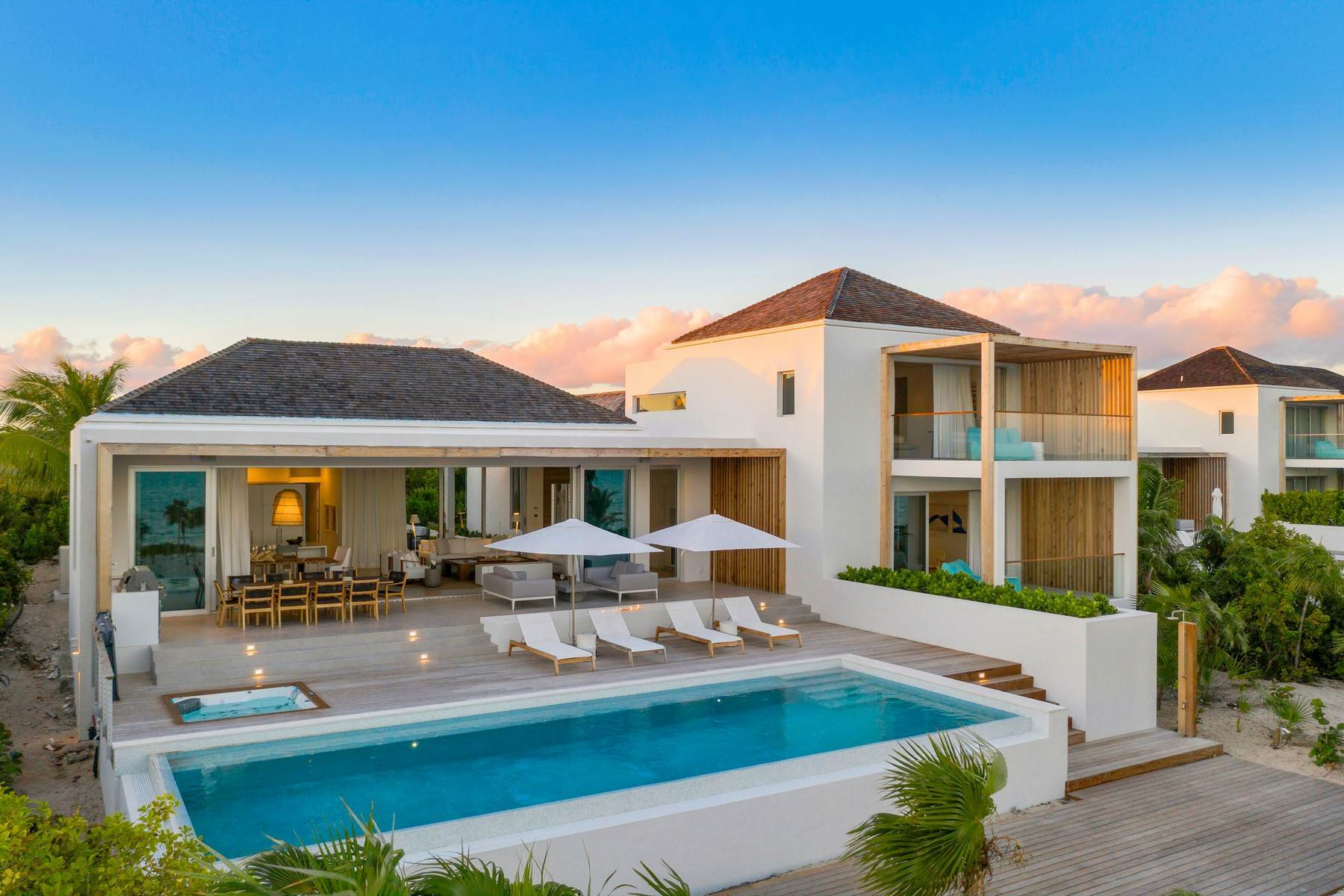 Single Family Homes for Sale at Beach Enclave Long Bay - Villa 3 Beach Enclave Long Bay, Long Bay, Providenciales Turks And Caicos Islands