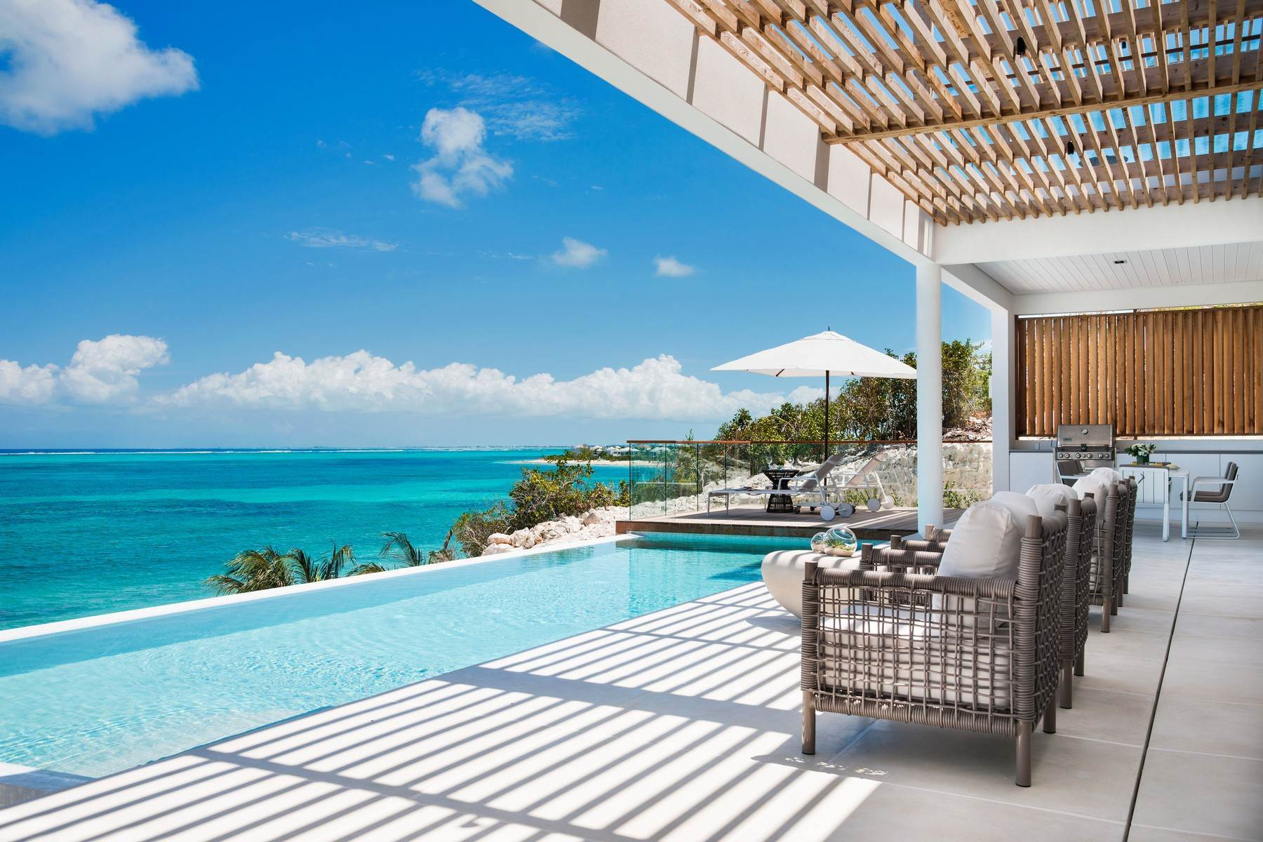 4. Single Family Homes at Beach Enclave North Shore Beachfront Villa Rental Blue Mountain, Providenciales TC Turks And Caicos Islands