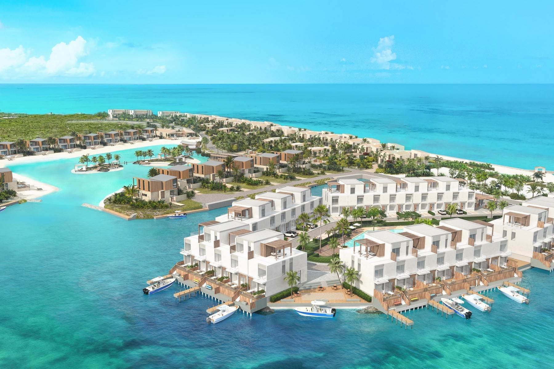 3. Condominiums for Sale at SOUTH BANK - BOATHOUSES - TWO BEDROOM PLUS ROOFTOP TERRACE - E1 South Bank, Long Bay, Providenciales Turks And Caicos Islands