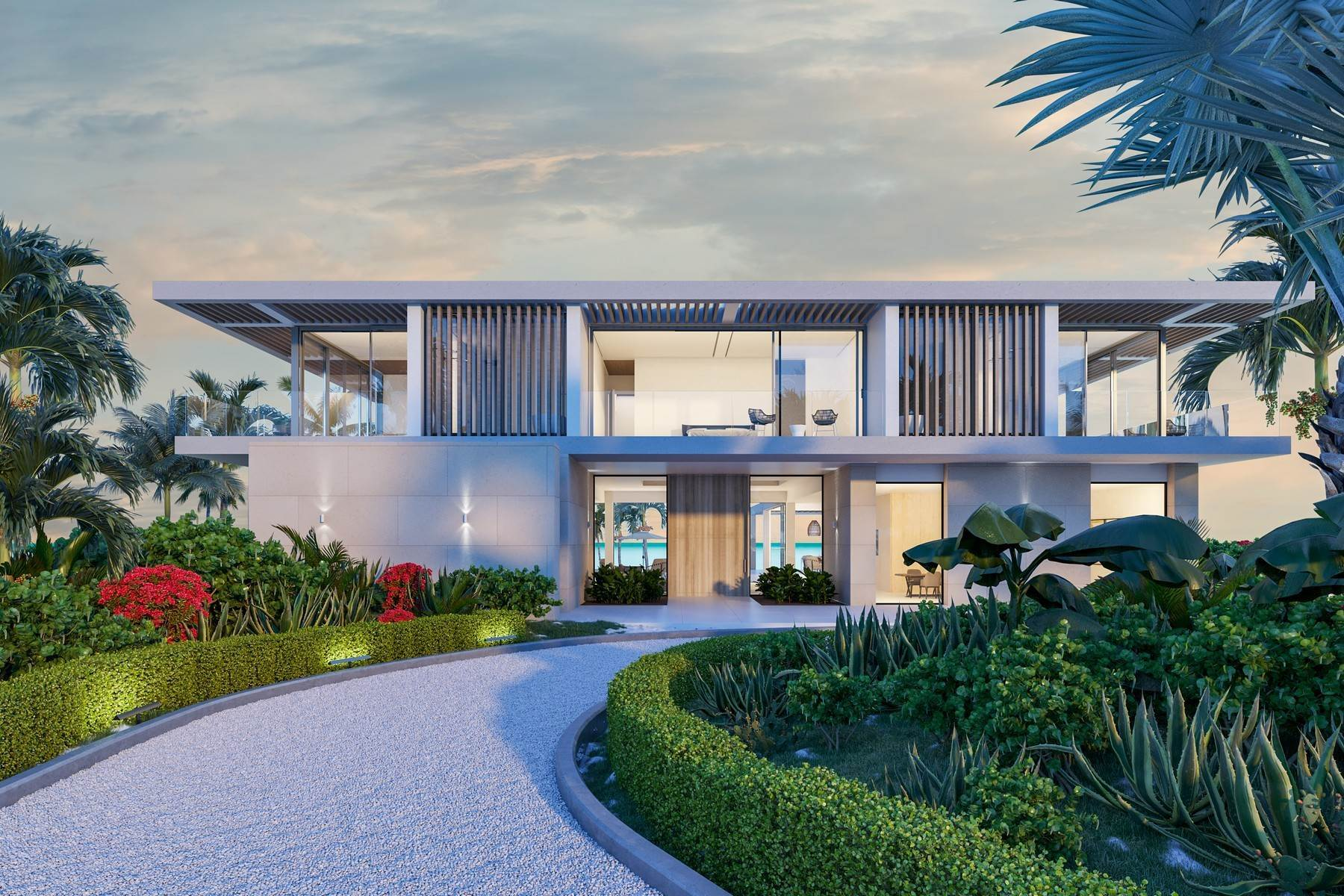 Single Family Homes por un Venta en The Peninsula at Emerald Estate - Beach House 2 Emerald Point Beachfront Leeward, Providenciales TKCA 1ZZ Islas Turcas y Caicos