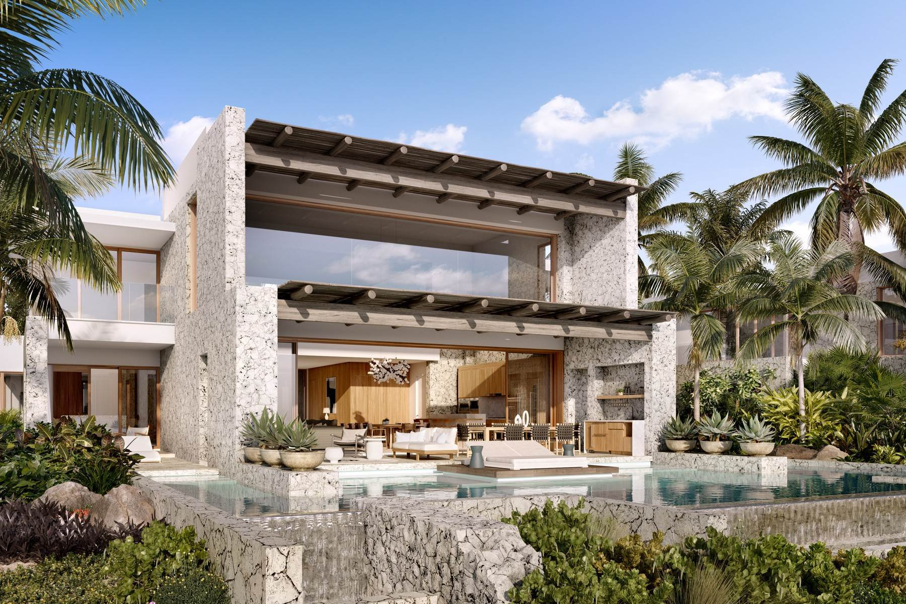 4. Single Family Homes pour l Vente à The Strand Turks & Caicos - Luxury Residence R-2 The Strand, Cooper Jack, Providenciales Îles Turques-et-Caïques