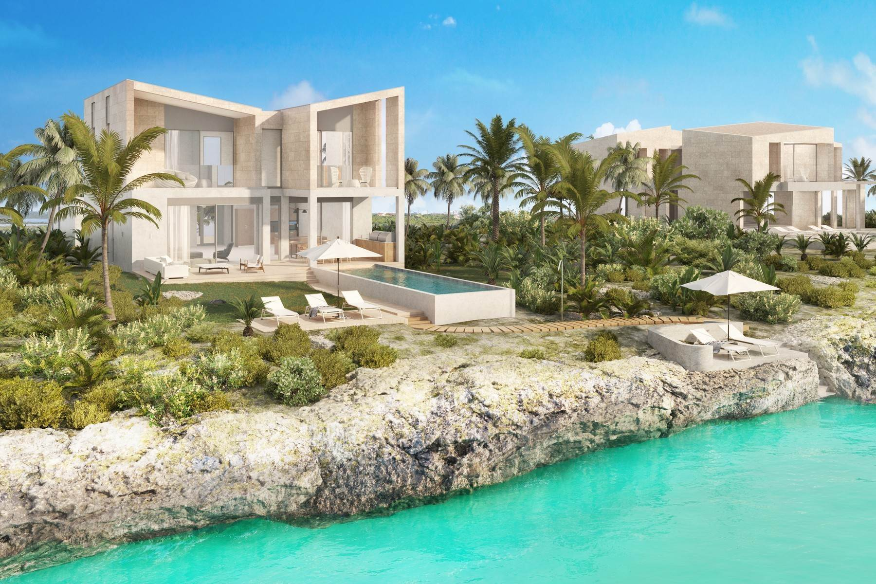 Single Family Homes por un Venta en SOUTH BANK - THE OCEAN ESTATE II - REEF VILLA - VILLA 9 South Bank, Long Bay, Providenciales Islas Turcas y Caicos