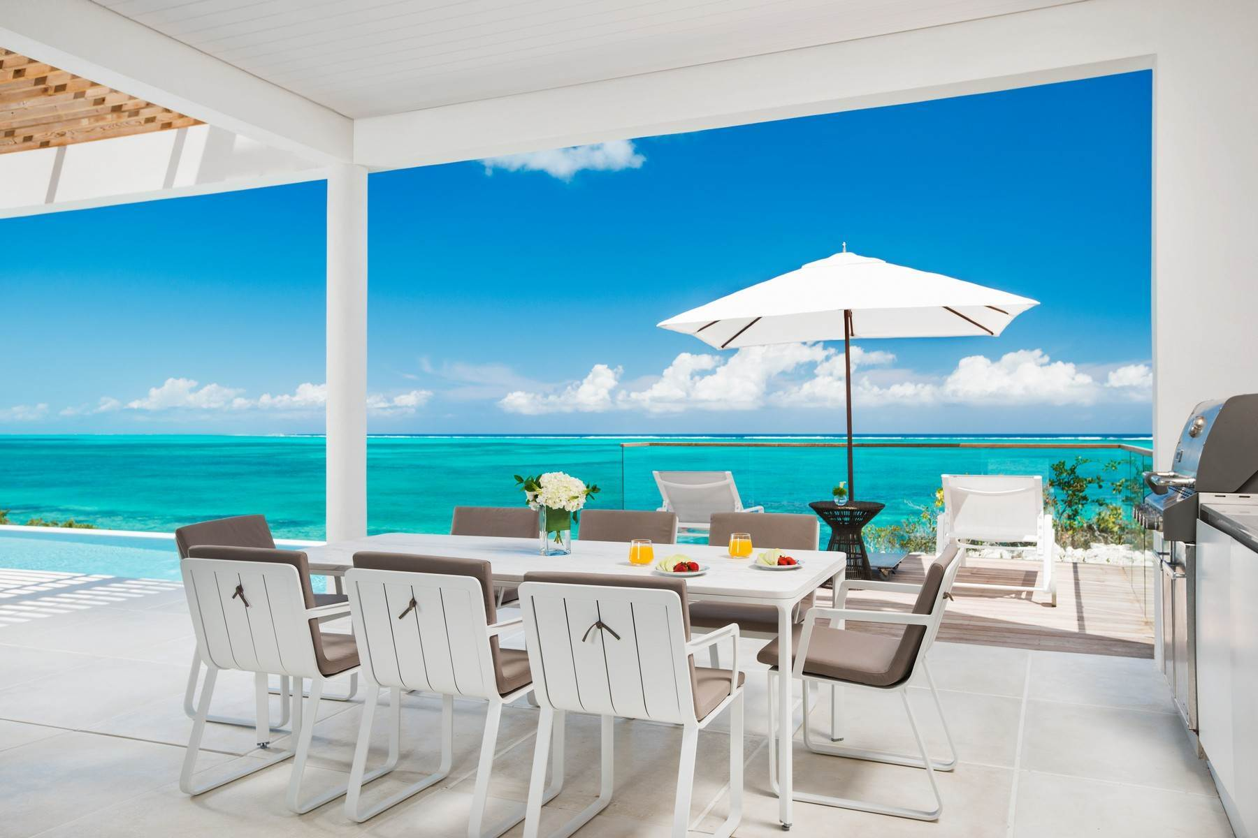 5. Single Family Homes at Beach Enclave North Shore Beachfront Villa Rental Blue Mountain, Providenciales TC Turks And Caicos Islands