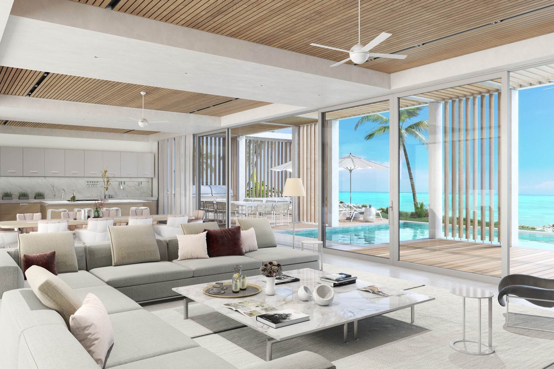 3. Single Family Homes for Sale at SOUTH BANK - THE OCEAN ESTATE I - BANKS VILLA 5 South Bank, Long Bay, Providenciales Turks And Caicos Islands