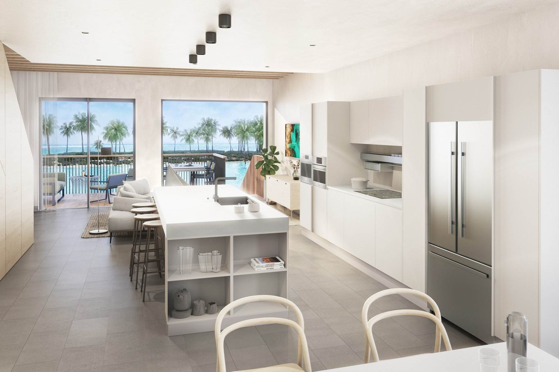 4. Condominiums for Sale at SOUTH BANK - BOATHOUSES - ONE BEDROOM - E7 South Bank, Long Bay, Providenciales Turks And Caicos Islands