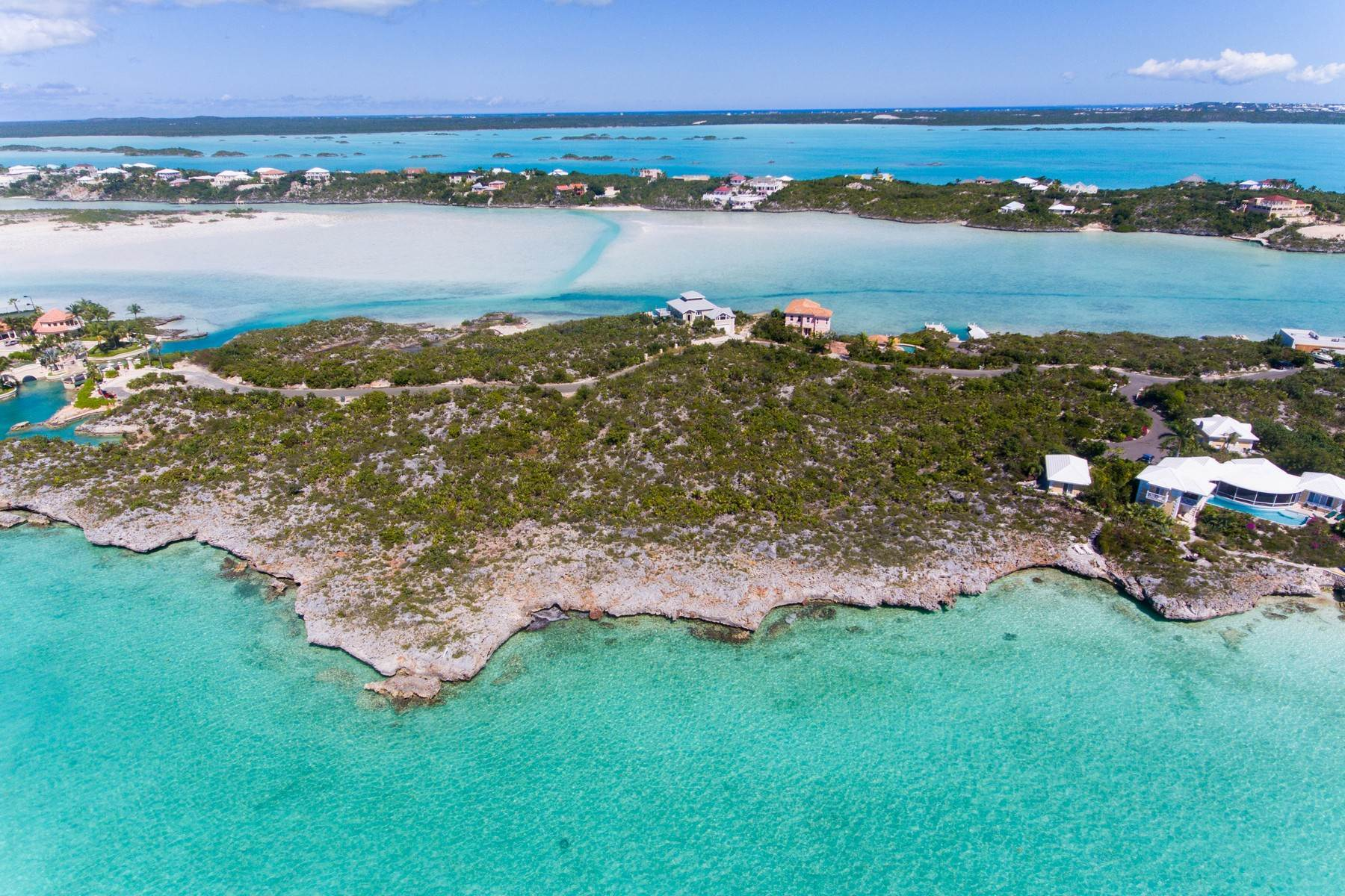 Land for Sale at Silly Creek Oceanfront Lot Chalk Sound, Providenciales Turks And Caicos Islands