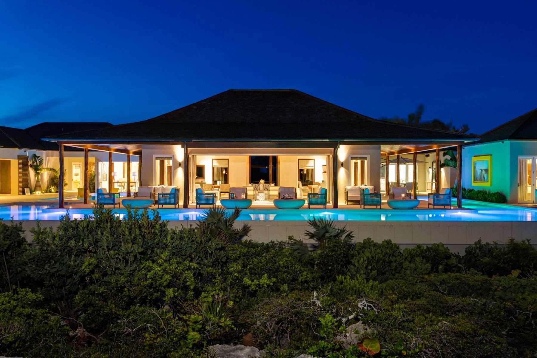 49. Single Family Homes for Sale at Turtle Tail Estate Beachfront Turtle Tail, Providenciales TCI Turks And Caicos Islands