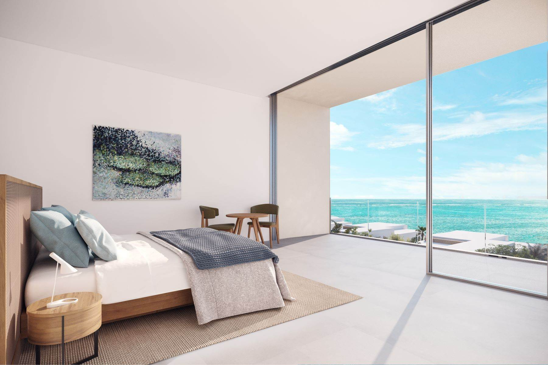 Single Family Homes por un Venta en Beach Enclave North Shore Phase 2 - Oceanview House - 4 Bed Beach Enclave, Blue Mountain, Providenciales Islas Turcas y Caicos