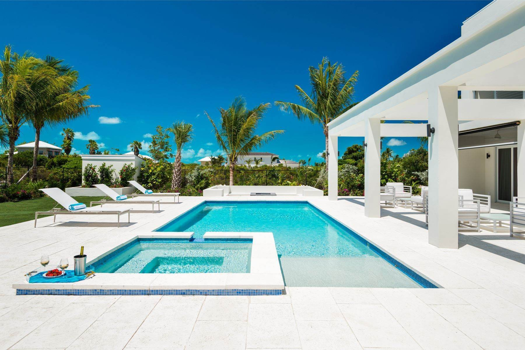 Single Family Homes for Sale at Turquoise Villa Leeward, Providenciales Turks And Caicos Islands