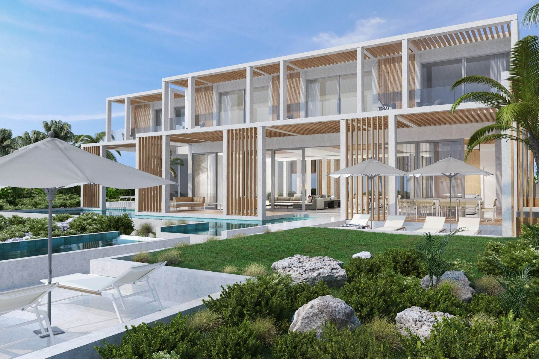 2. Single Family Homes for Sale at SOUTH BANK - THE OCEAN ESTATE I - BANKS VILLA 7 South Bank, Long Bay, Providenciales Turks And Caicos Islands