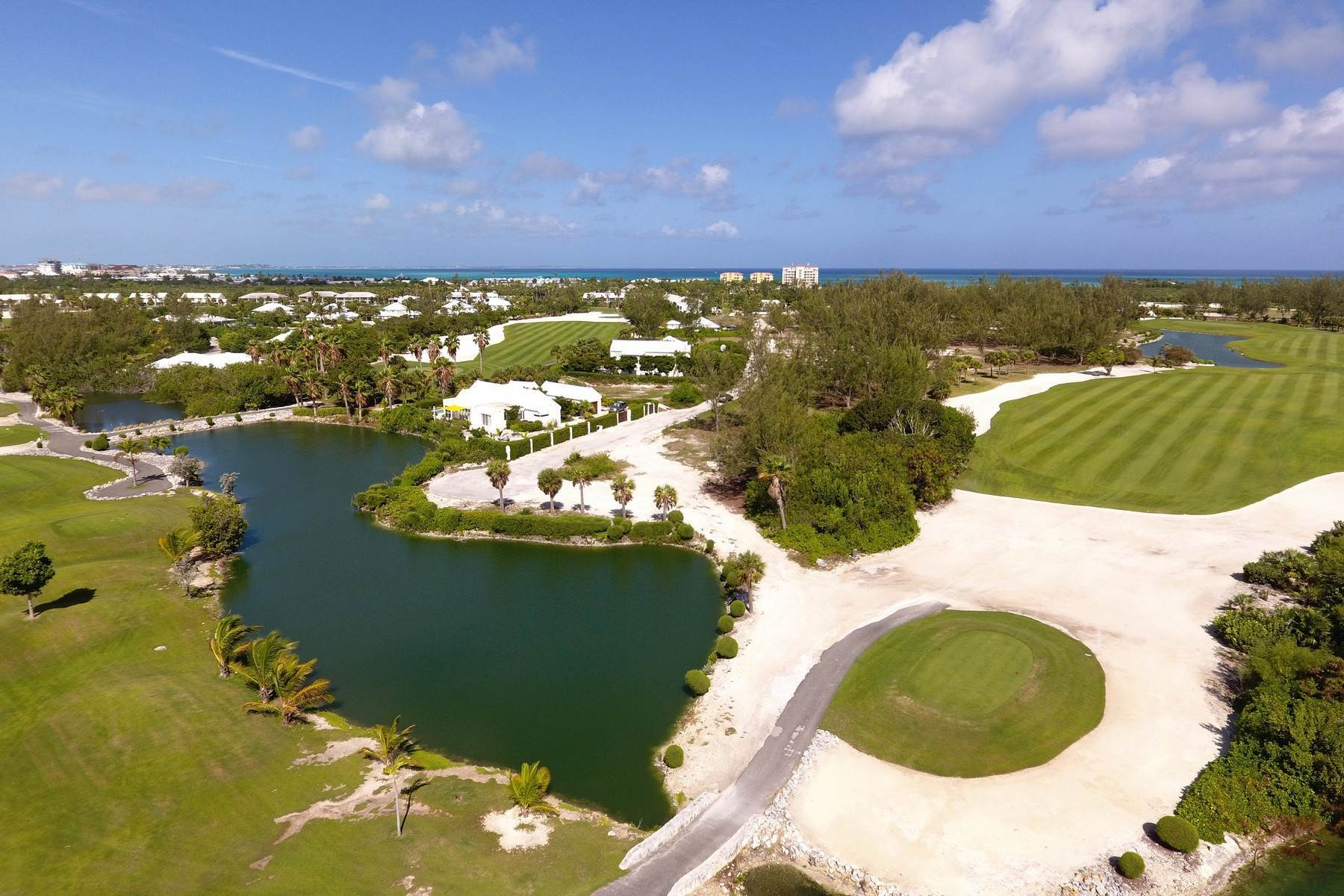 Land for Sale at Golf Course Waterfront Site Leeward, Providenciales Turks And Caicos Islands