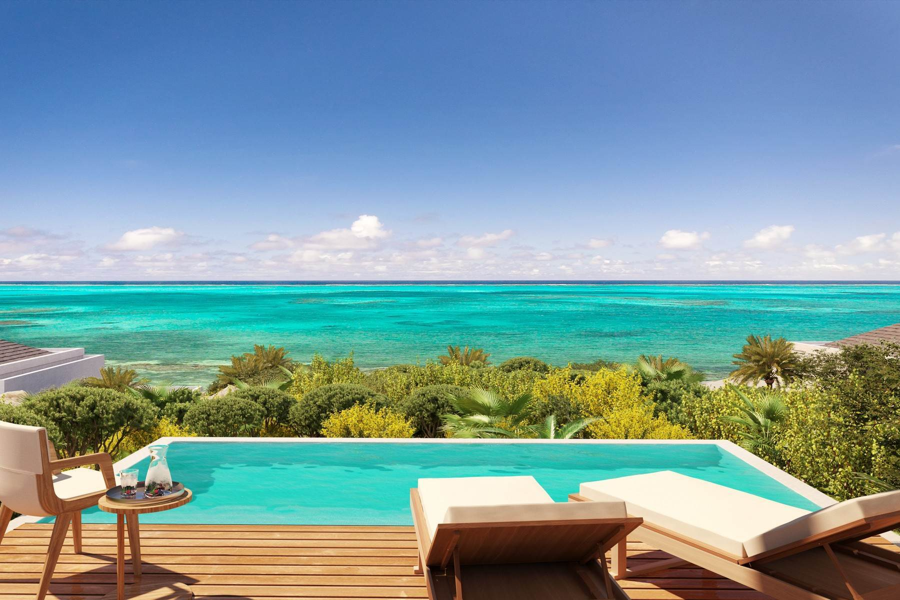Single Family Homes por un Venta en Rock House Two Bedroom Ridgetop Home Rock House Resort, International Drive Blue Mountain, Providenciales TKCA 1ZZ Islas Turcas y Caicos