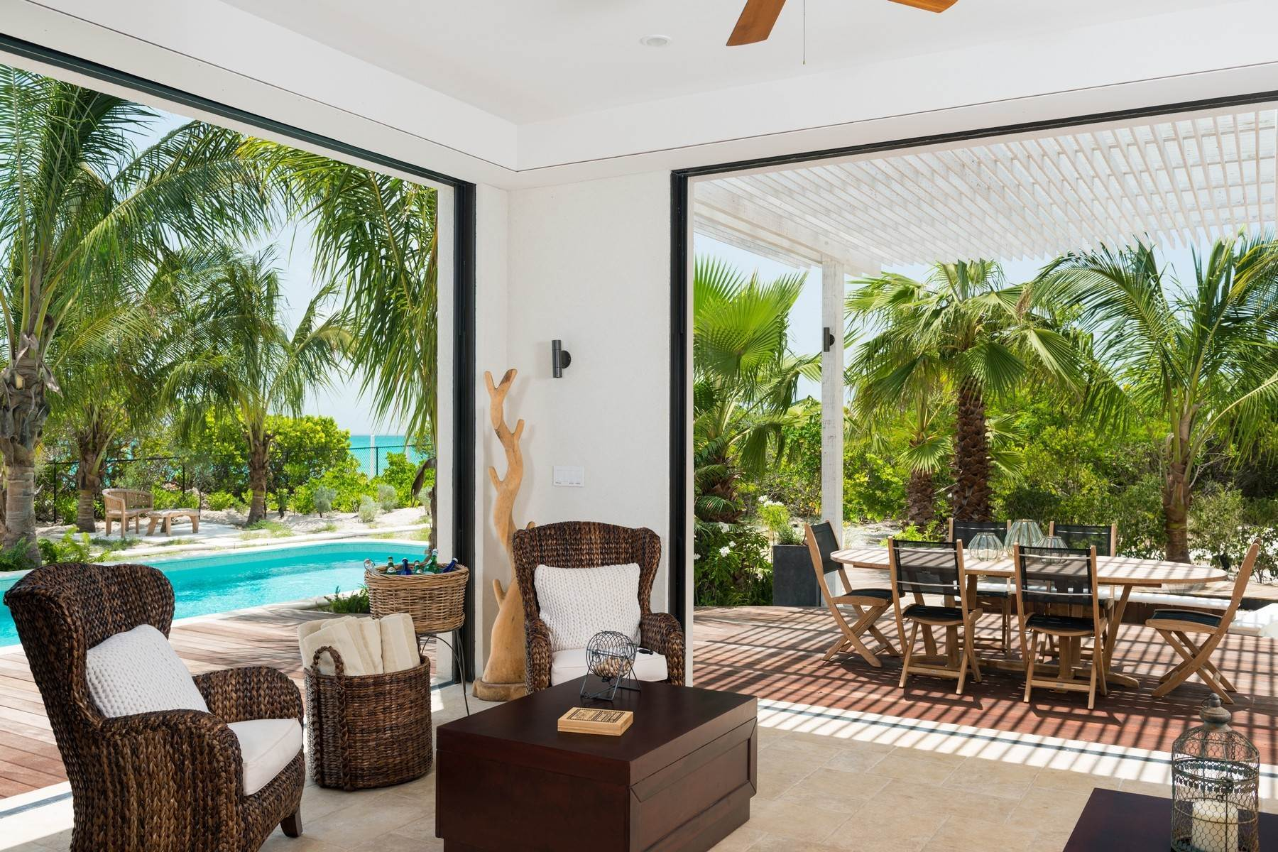 5. Single Family Homes at Saving Grace Vacation Rental 4 Tranquility Lane Grace Bay, Providenciales TC Turks And Caicos Islands